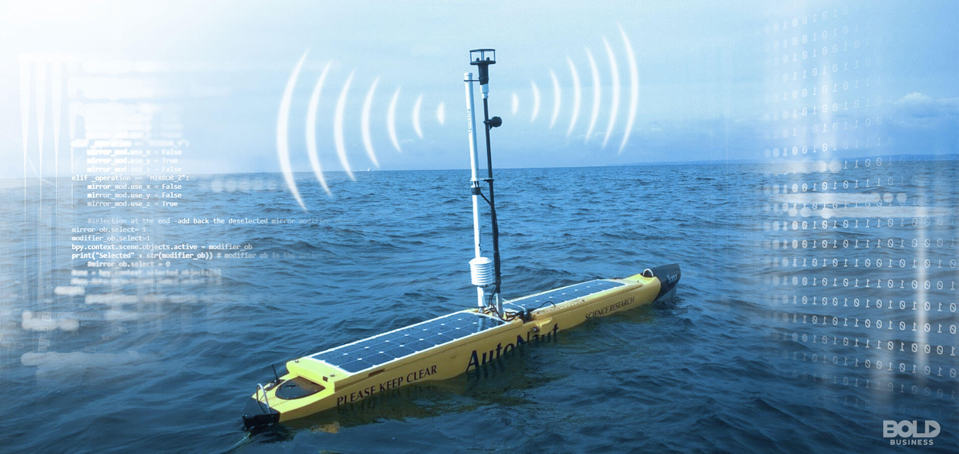 Autonomous Boats Look to Sail Into Energy Sector