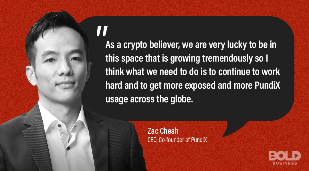 Zac Cheah, PundiX CEO, top companies in indonesia