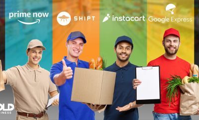 Different big names like Amazon Prime Now and Instacart (among many others) are offering home grocery delivery services nowadays