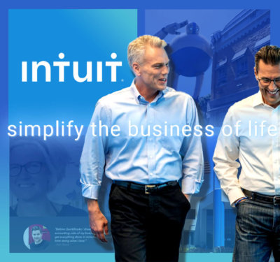Intuit's business has defined itself around self-disruption and reinvention.