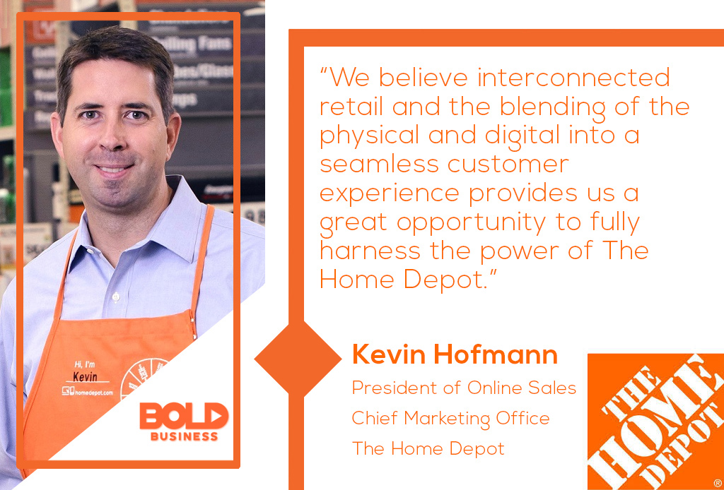 Kevin Hoffman, President of online sales and CMO for Home Depot discusses the online business strategy that is powering Home Depot growth