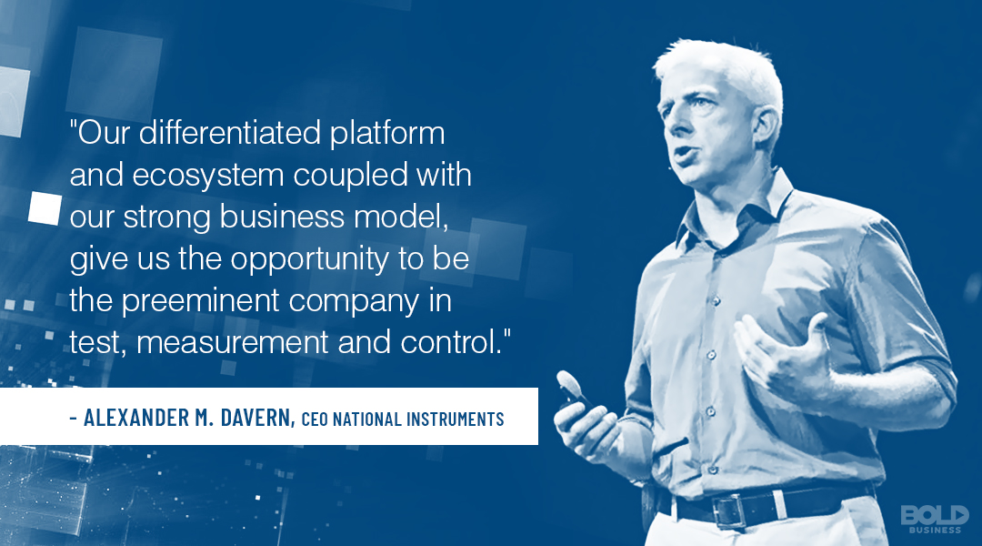 From industrial internet of things devices to smart cars, National Instruments products help tech companies innovate.