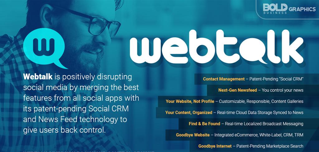 Bold Graphics: Webtalk Infographics