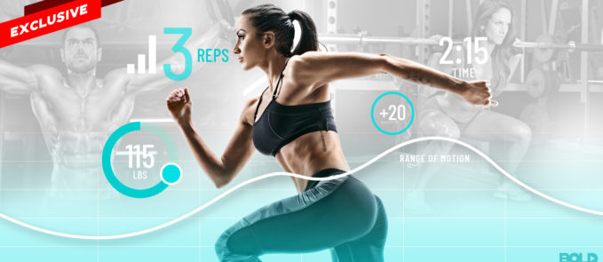 a woman running while using fitness technology workout plans - disruption in fitness industry
