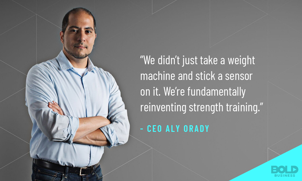 Tonal CEO Aly Orady Discusses Strength Training and future of fitness technology