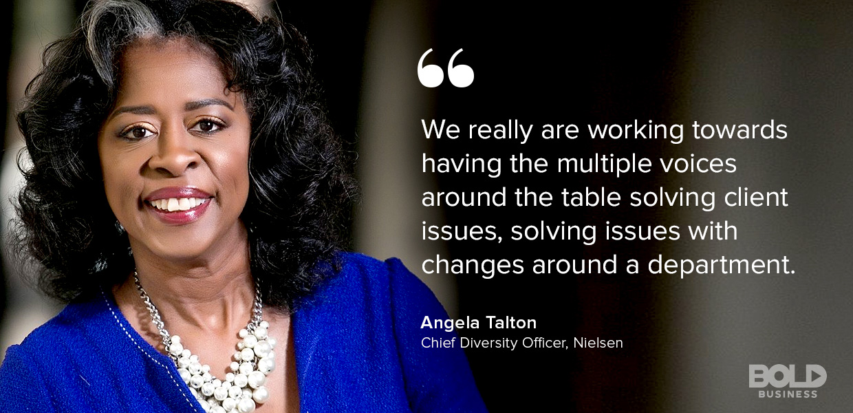 Angela Talton Chief Diversity Officer Nielsen discusses Millennials in the Workforce