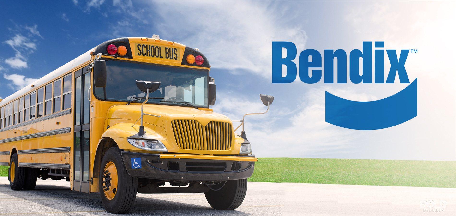 bendix wingman fusion yellow school bus