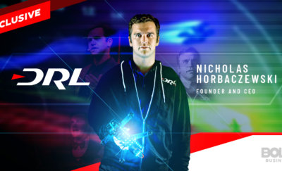 Nicholas Horbaczewski – the bold leader behind the Drone Racing League.