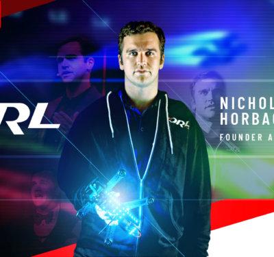 Nicholas Horbaczewski – the bold leader behind the Drone Racing League.