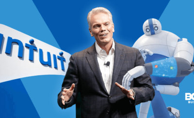 an image of Mr. Brad Smith, CEO of Intuit Inc.