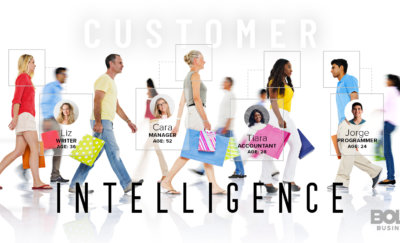 customer intelligence management people walking in opposite direction
