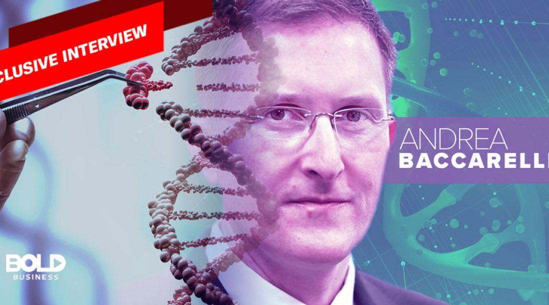 Dr. Andrea Baccarelli Feature image on Epigenetics