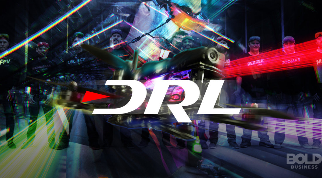 The Drone Racing League blends cutting-edge technology with organized sport.