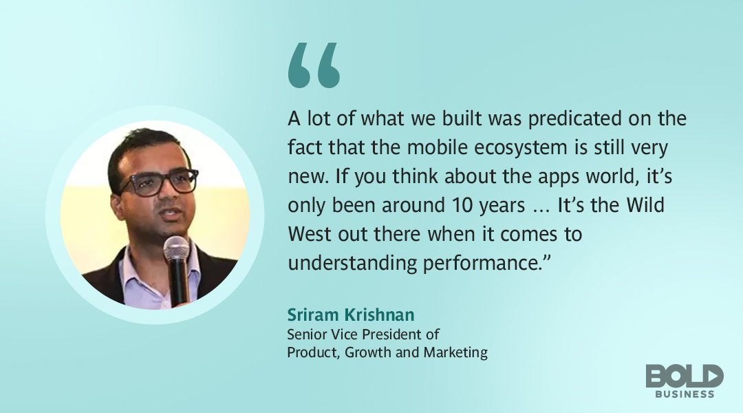Headspin Inc. SVP Sriram Krishnan quote
