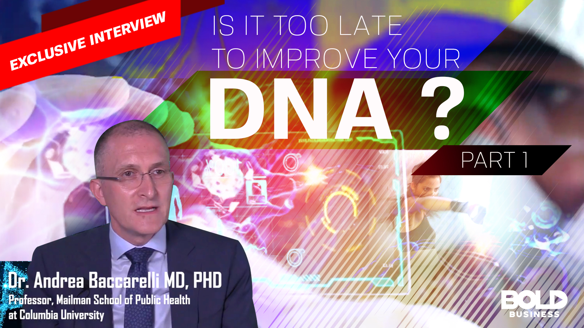 Thumbnail image of Is it too late to Improve your DNA?
