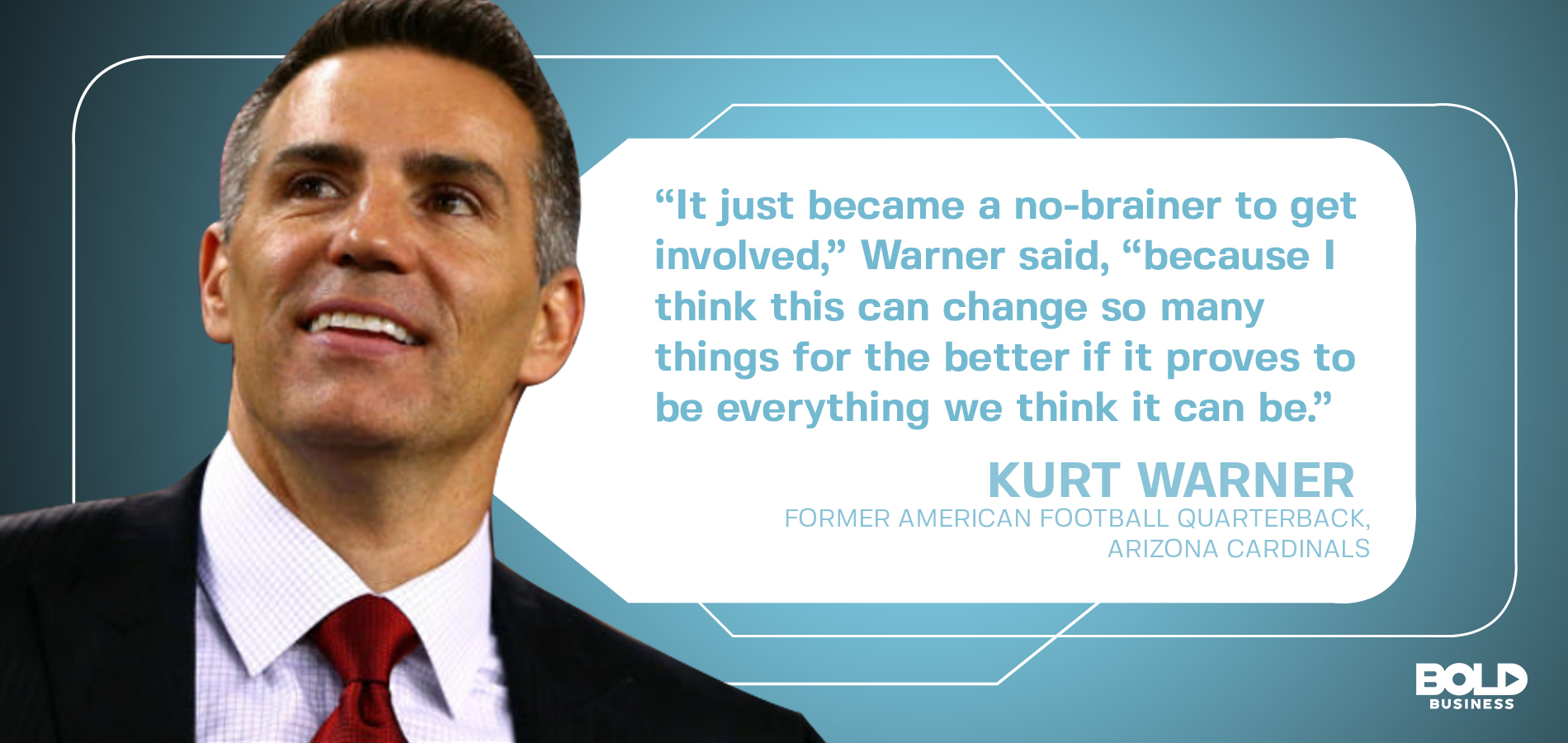 Kurt Warner is lending his support to The concussion nasal spray Prevasol which may be the next step in tackling CTE.