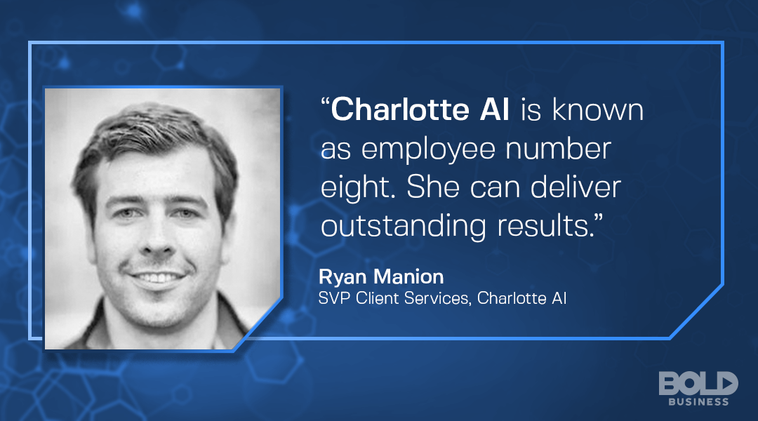 Charlotte AI SVP Ryan Manion discusses their AI bot for facebook optimization