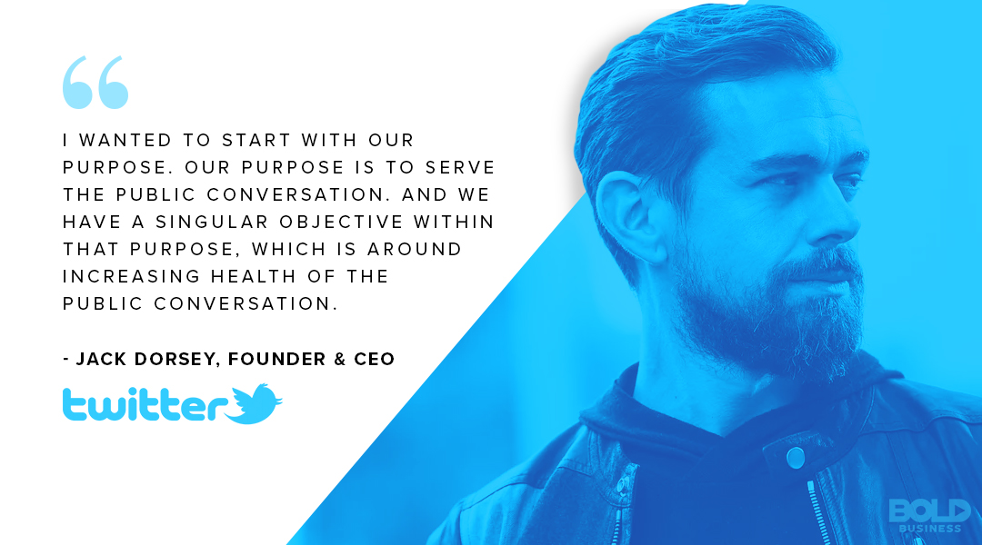 Twitter's Earning Report, Jack Dorsey quote on serving the public conversation