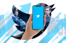 Twitter's earning report, logo of twitter with jack dorsey on the background