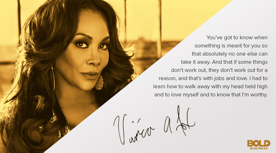 "Vivica A. Fox discusses a gold tip from the ""Every Day I'm Hustling"" Actress"