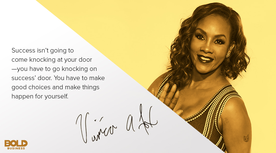 "Vivica A. Fox Movies —a gold tip from the ""Every Day I'm Hustling"" Actress"