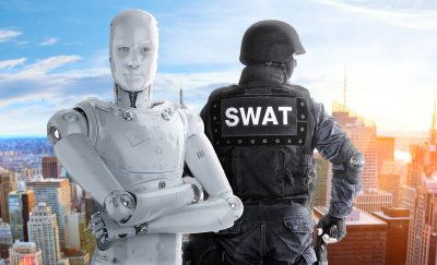 Artificial intelligence in law enforcement means a safer society.