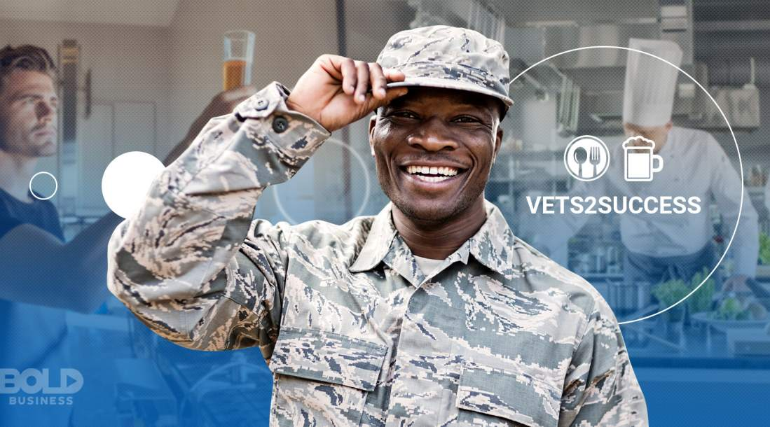 veteran support programs, soldier in uniform smiling