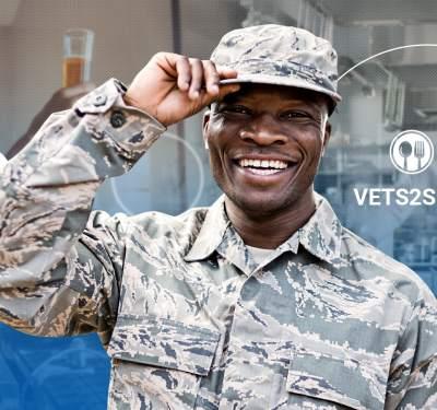 veteran support programs, soldier in uniform smiling