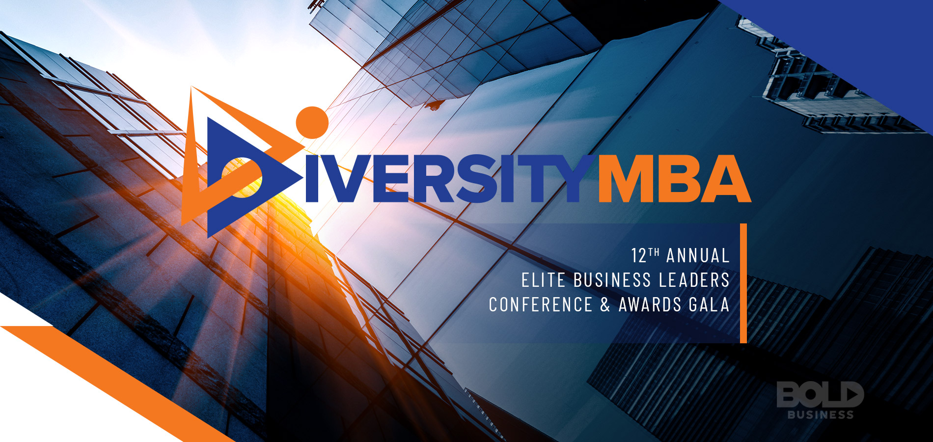 A logo of the Diversity MBA event that during the Diversity MBA conference that features diversity and inclusion