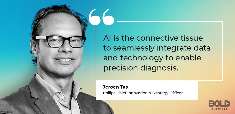 neuroradiology AI, Jeroen Tas on data integration