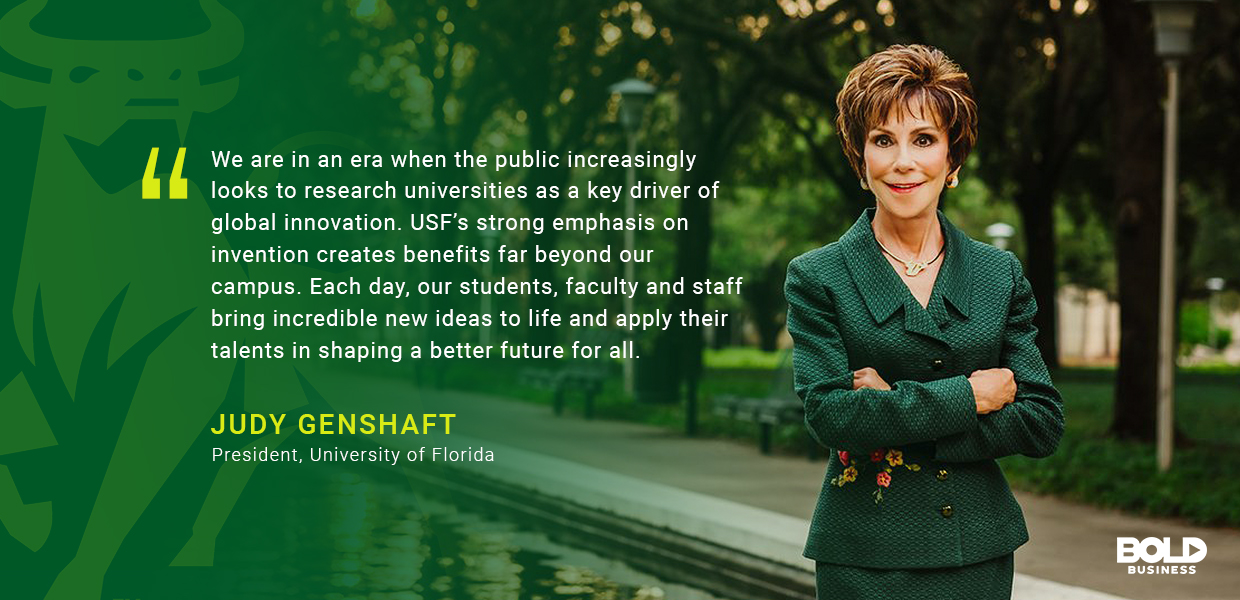 As research institutions go, the University of South Florida is among the best.