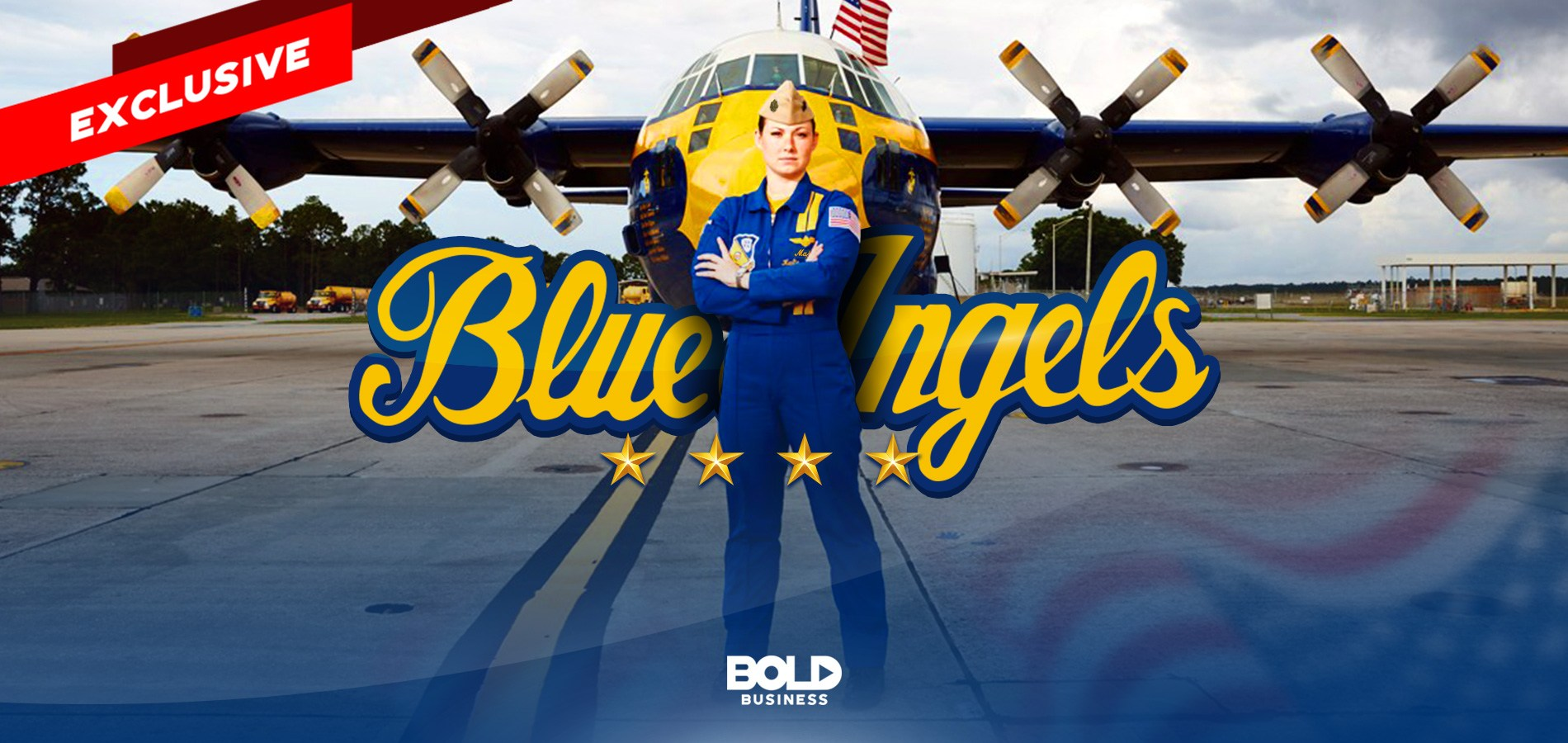 First Female Blue Angels Pilot Katie Higgins Cook and Her