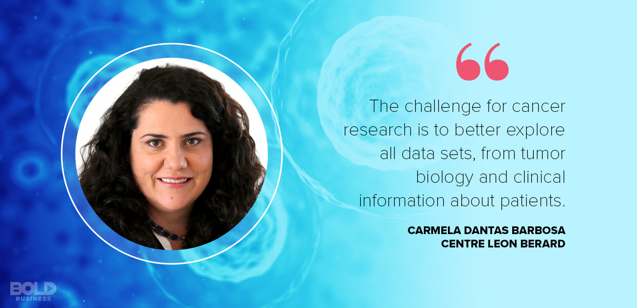 Carmela Dantas Barbosa discusses Decades of cancer research has created a huge data pool - and a need for big data oncology.
