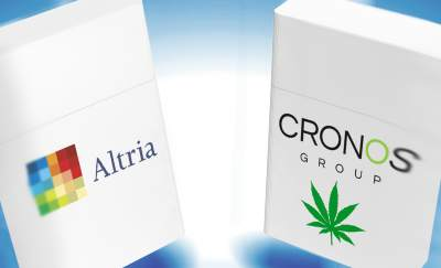 Altria Invests $1.8B In Cronos Company: Big Tobacco Makes A Big Bet On Marijuana