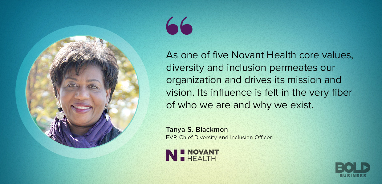 The Novant Health system's foundation is built upon diversity and inclusion.