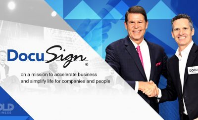 The DocuSign company has become an industry leader in facilitating online contracts