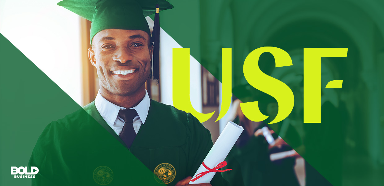 One of the cornerstones of strong academics is student success, so USF focused on that.
