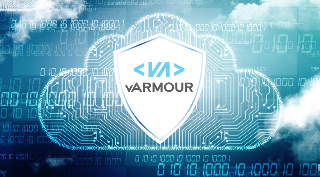 vArmour logo in the clouds