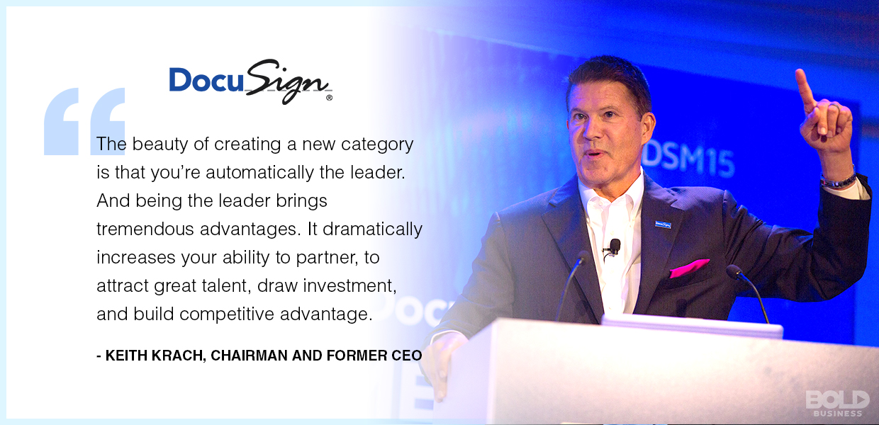 What is DocuSign? An industry leader in securing online agreements.