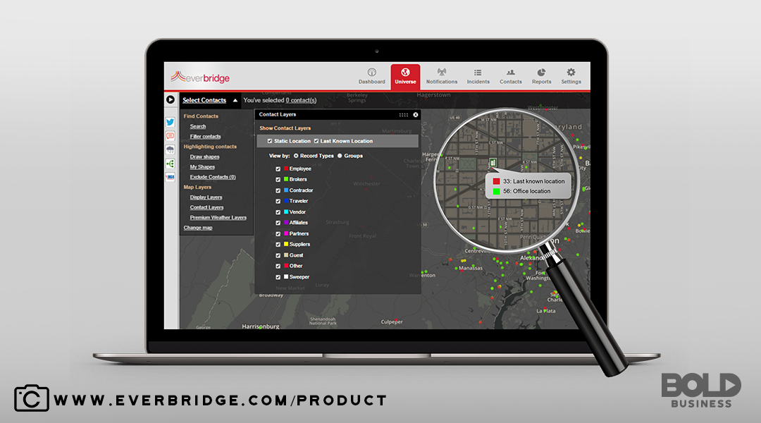 Everbridge has utilized technology to protect businesses and employees alike.