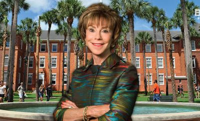 Judy Genshaft, the University of South Florida president, has shown bold leadership in her tenure.