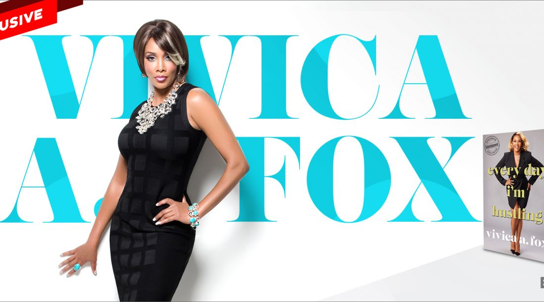 """A photo of Vivica A. Fox and her name—Gold Tips from the """"Every Day I'm Hustling"""" Actress"""