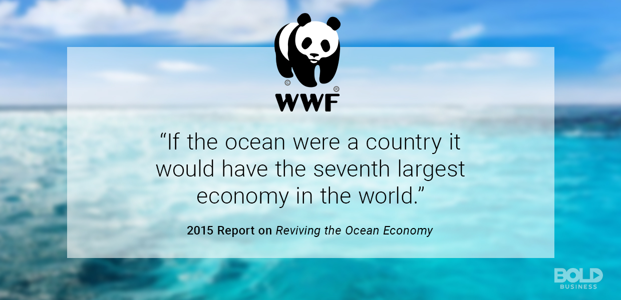 Want to save the world? Then keep in mind the blue economy.