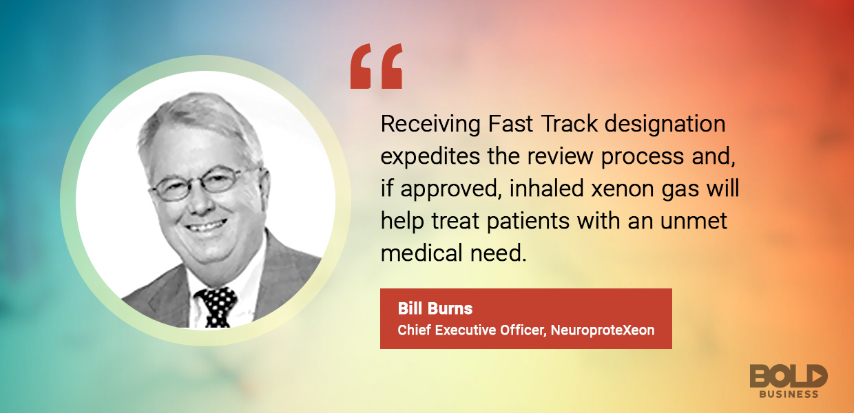 Bill Burns CEO NPXe Limited discusses Xenon gas therapy