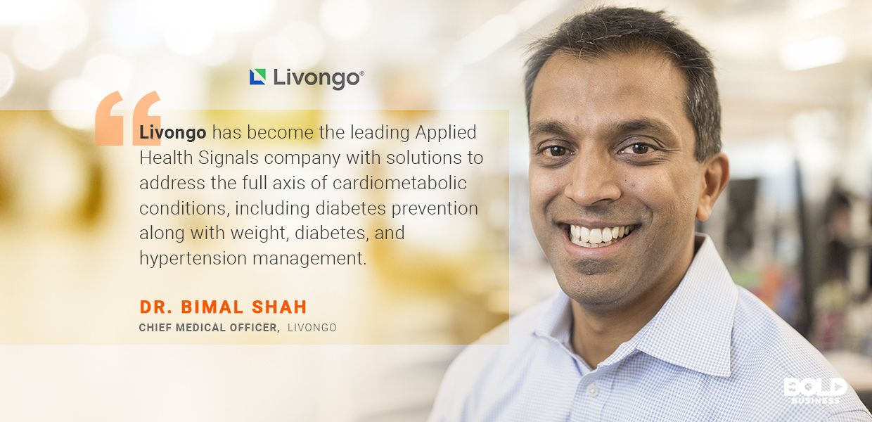 The knowledge and insight required for heart-healthy lifestyle habits might seem daunting, but Livongo can help make it easier.