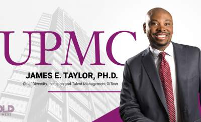 a photo of James E. Taylor, Ph.D., Chief Diversity Officer and Inclusion and Talent Manager, UPMC