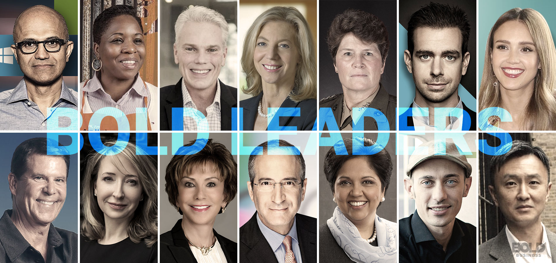 Bold Leaders List demonstrating characteristics of a bold leader