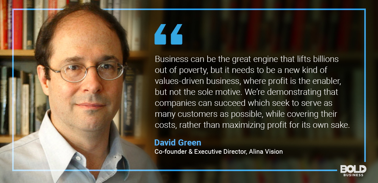 underserved niche markets, david green quoted