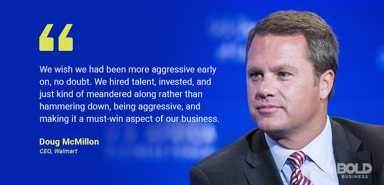 Walmart technology strategy - doug mcmillon quoted