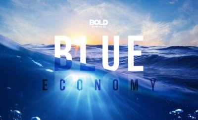 The blue economy is everything related to the oceans and waterways.